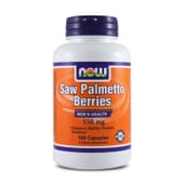 SAW PALMETTO BERRIES 550mg 100 Caps - NOW FOODS