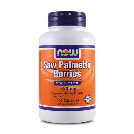 Saw Palmetto Berries 550Mg 100 Caps da Now Foods
