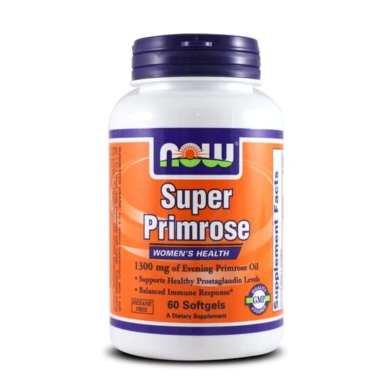 Super Primrose 1300Mg 60 Softgels da Now Foods
