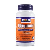 Ubiquinol 100Mg 60 Softgels da Now Foods