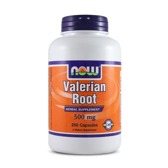Valerian Root 500mg 250 Caps de Now Foods