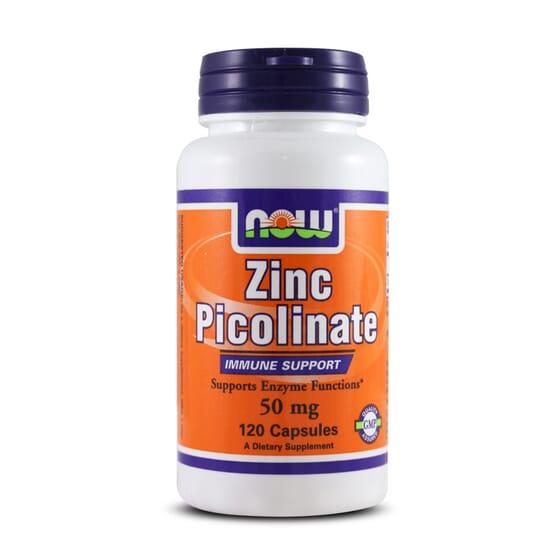 Zinc Picolinate 50Mg 120 Caps da Now Foods