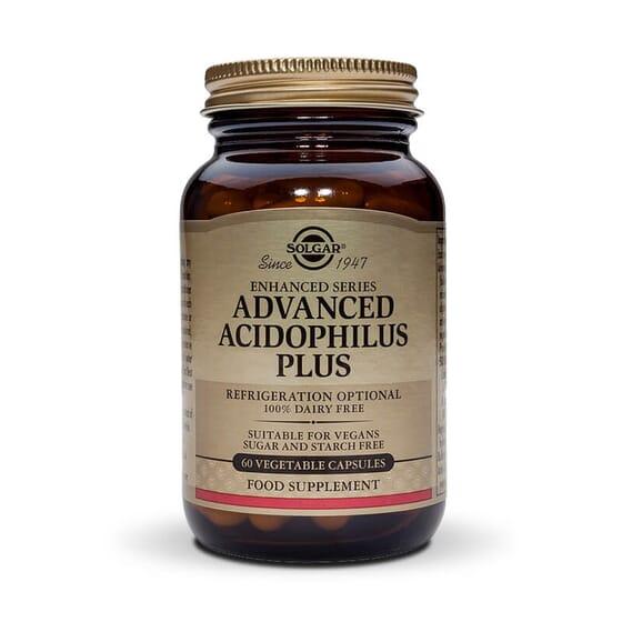 Advanced Acidophillus Plus 60 Vcaps da Solgar