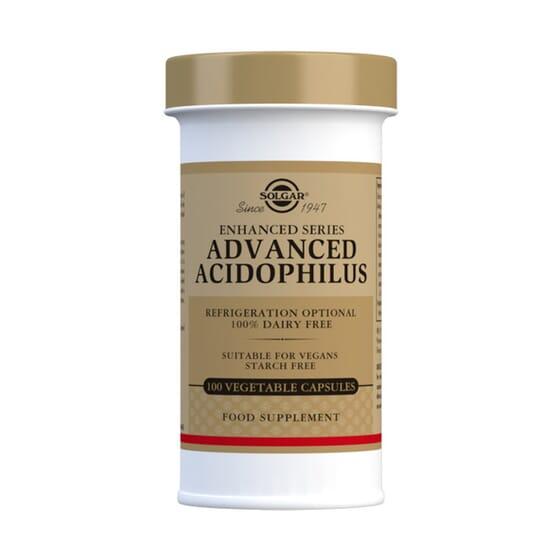 Advanced Acidophillus 100 Vcaps da Solgar