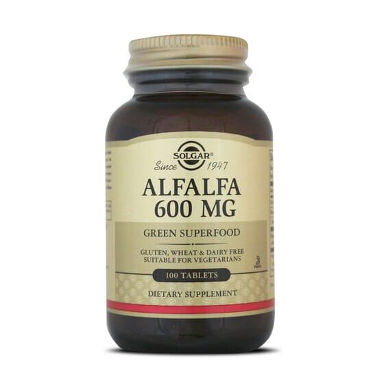 Alfalfa 600Mg 100 Tabs da Solgar