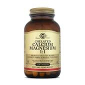 Chelated Calcium Magnesium 1:1 - 120 Tabs da Solgar