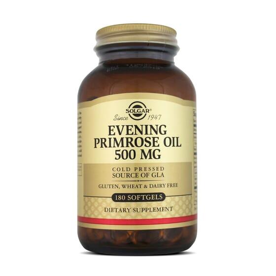 EVENING PRIMROSE OIL es aceite de onagra de presión en frío