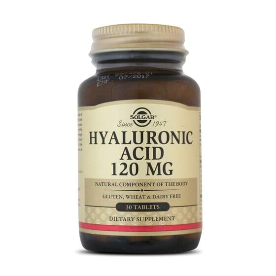 Hyaluronic Acid 120Mg 30 Tabs da Solgar