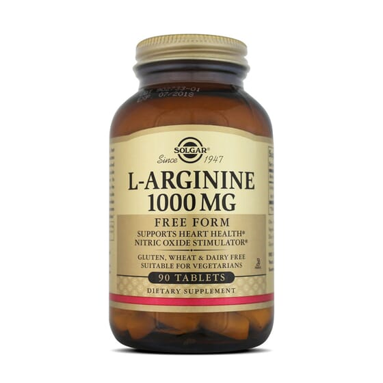 L-Arginine 1000Mg 90 Tabs da Solgar