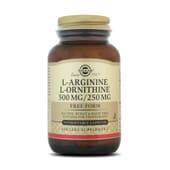 L-ARGININE / L-ORNITHINE 500 / 250 mg - SOLGAR
