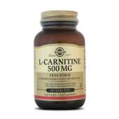 Combate la pérdida de peso con la L-Carnitina de Solgar