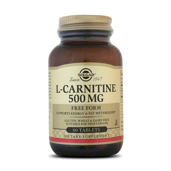 L-Carnitine 500Mg 60 Tabs da Solgar