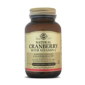 Natural Cranberry With Vitamin C 60 Vcaps da Solgar