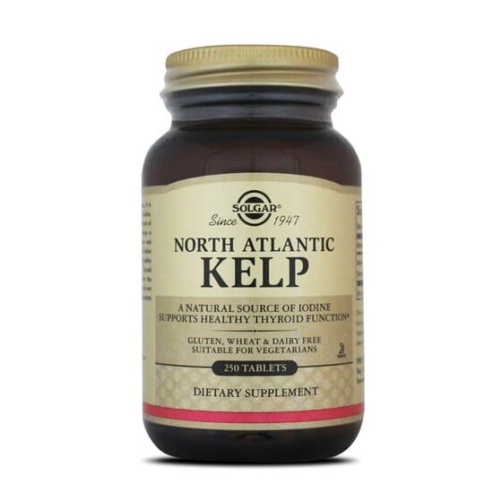 Algue Kelp Atlantique Nord - Solgar - Soins de la thyroïde