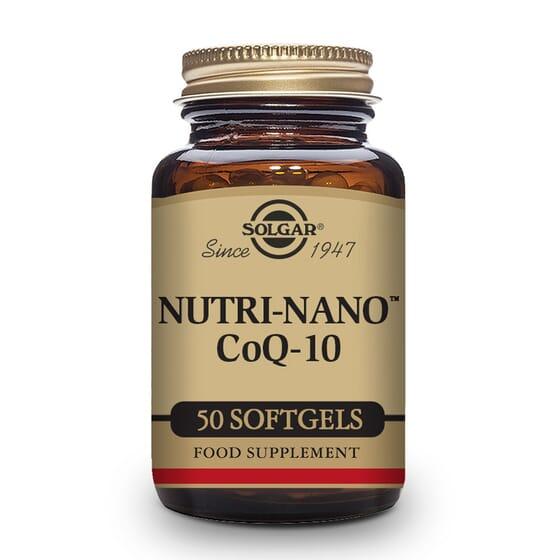 Nutri-Nano Coq-10 3. 1 x - 50 Softgels da Solgar