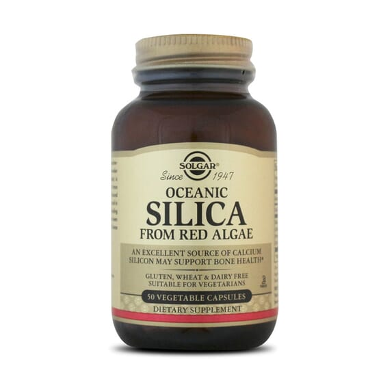 Oceanic Silica From Red Algae 50 Vcaps da Solgar