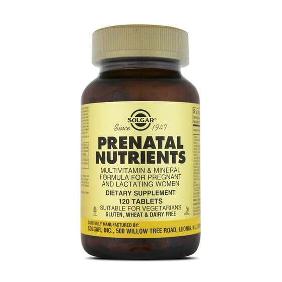 Prenatal Nutrients 120 Tabs da Solgar