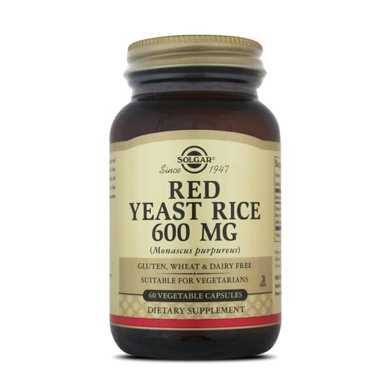 Red Yeast Rice 600Mg 60 Vcaps da Solgar