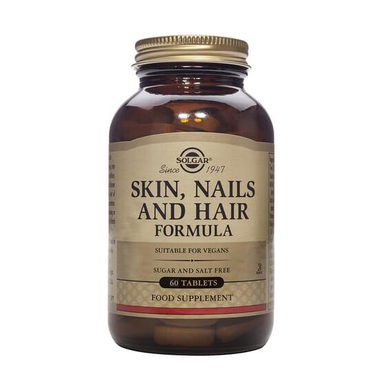 Skin Nails & Hair 60 Tabs da Solgar