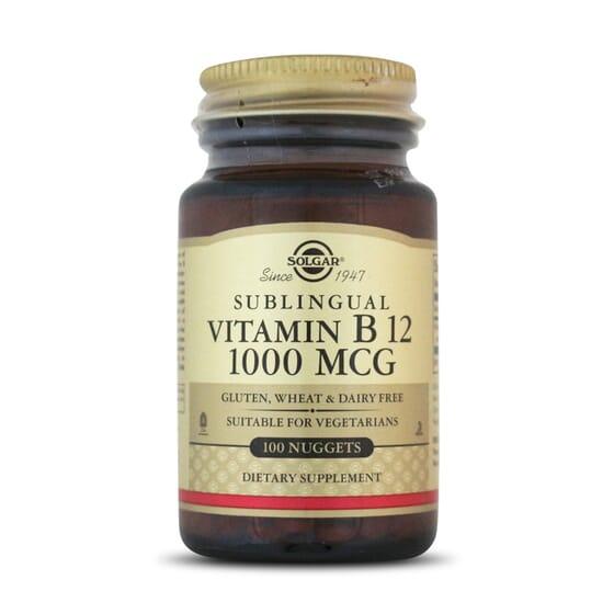 Vitamin B12 1000Mcg 100 Tabs da Solgar