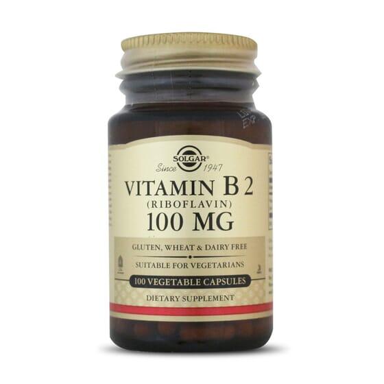 Descubre las propiedades de tomar Vitamina B2 de Solgar