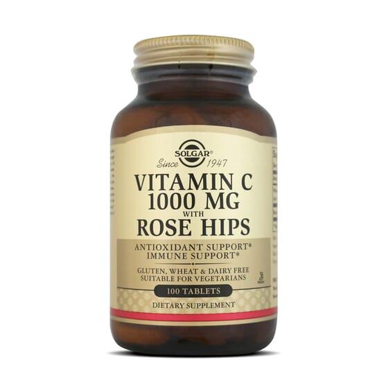 Descubre la potencia antioxidante de combinar vitamina C y escaramujo gracias a Solgar