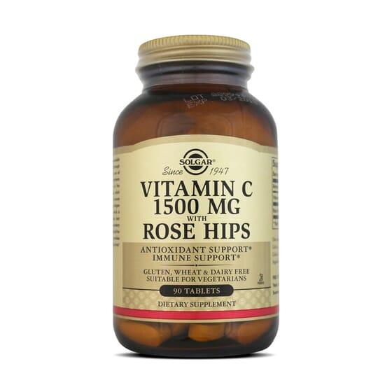 Vitamin C 1500Mg With Rose Hips 90 Tabs da Solgar