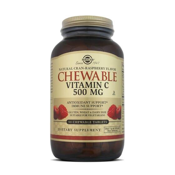 Chewable Vitamin C 500Mg 90 Tabs da Solgar