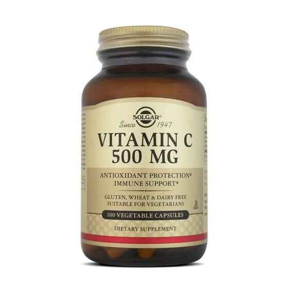 Vitamin C 500Mg 100 Vcaps da Solgar