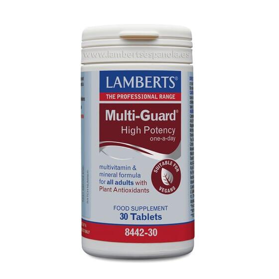 MULTIGUARD HIGH POTENCY 30 Comprimés. LAMBERTS