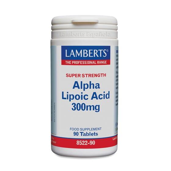 Alpha Lipoic Acid 300mg 90 Tabs de Lamberts