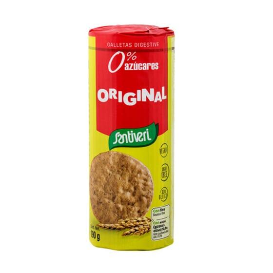 Galletas Digestive Originales 190g da Santiveri