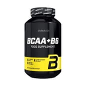 Bcaa + B6 200 Tabs de Biotech Usa
