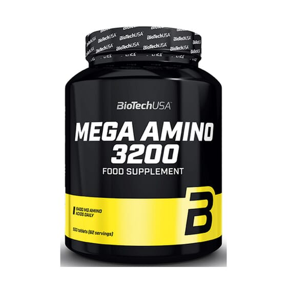 Mega Amino 3200 - 500 Tabs da Biotech USA