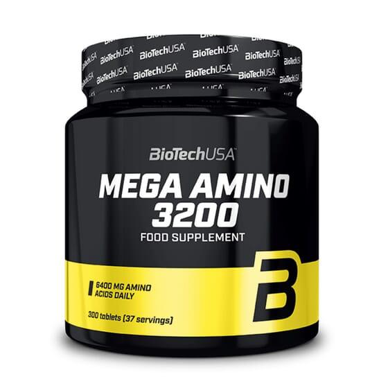 Mega Amino 3200 - 300 Tabs da Biotech USA