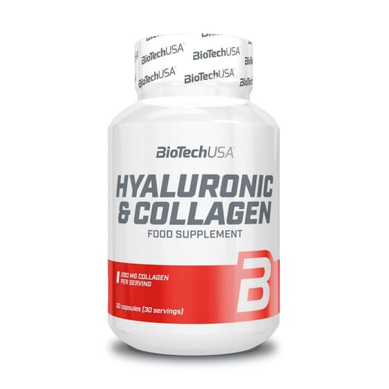 Hyaluronic & Collagen 30 Caps da Biotech USA