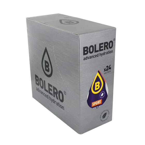 Bolero Isotónico Laranja com Stevia ideal para desportistas.