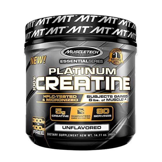 Platinum 100% Creatine 400g de Muscletech