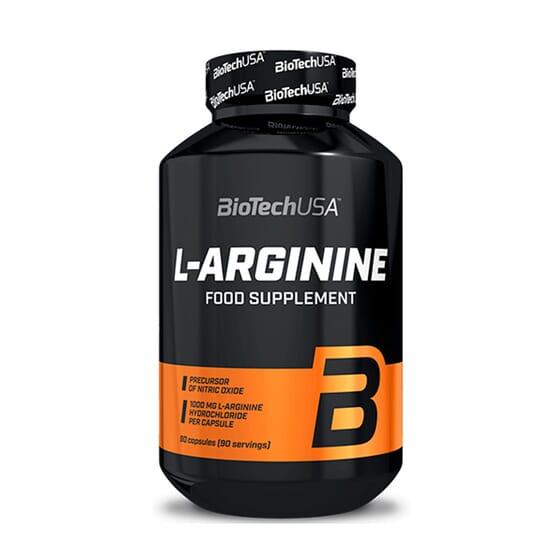 L-ARGININE 90 Gélules - BIOTECH USA