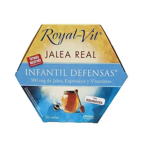 Jalea Real Royal VIt Infantil 20 x 10ml de Dietisa