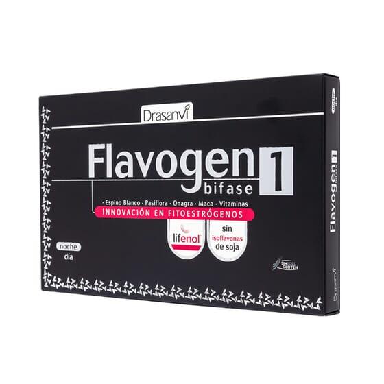 FLAVOGEN BIPHASE 60 Gélules - DRASANVI
