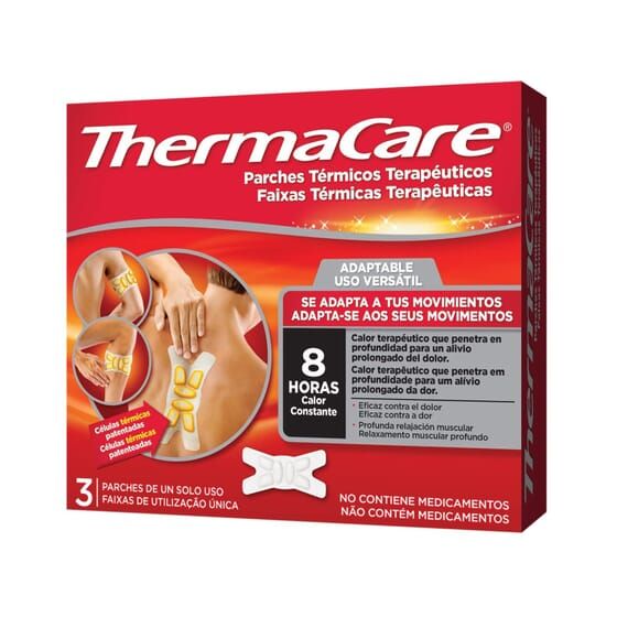 THERMACARE PATCH MULTI-ZONES 3 Unités - THERMACARE