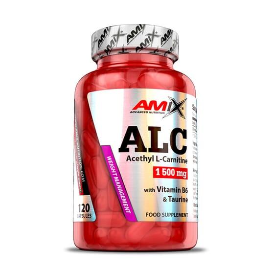 ALC Acetyl L-Carnitine 120 Caps de Amix Nutrition