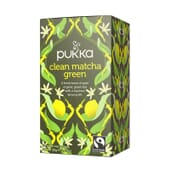 Chá Verde E Limão Bio 20 Infusões da Pukka
