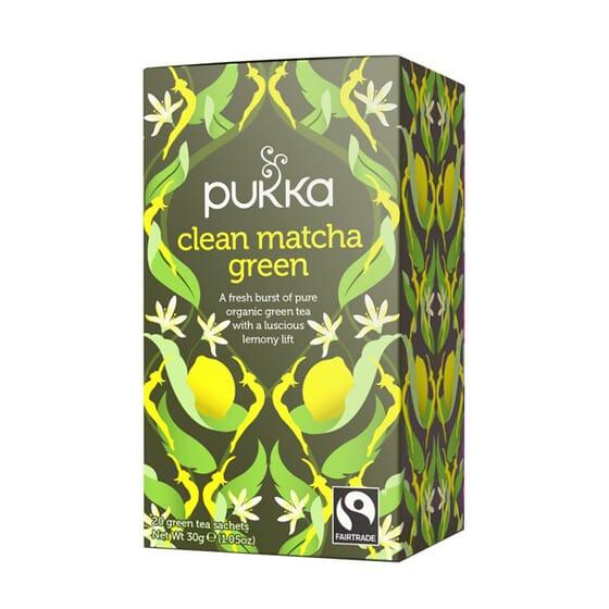 Té Verde y Limón Bio 20 Infusiones de Pukka