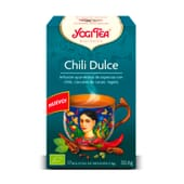 Chili Dulce 17 Infusiones de Yogi Tea