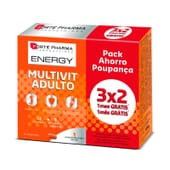 Energy Multivit Adulto 84 Tabs de Forte Pharma