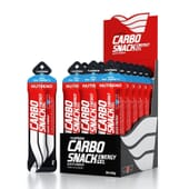 CARBO SNACK CON CAFEINA 12 x 50g de Nutrend Enduro Drive