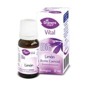 Óleo Essencial De Limão Bio 12 ml da El Granero Integral