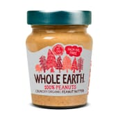 Crema Crujiente De Cacahuete Orgánico 227g de Whole Earth